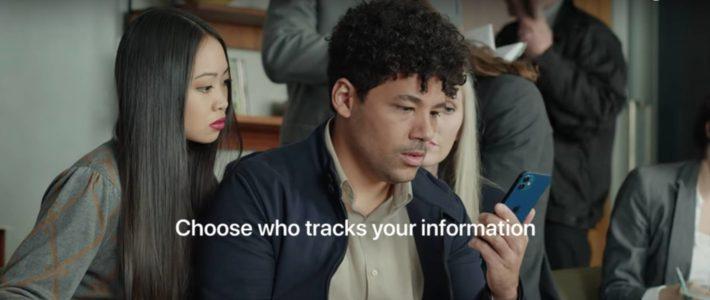 Apple met en images le tracking publicitaire dans un spot angoissant