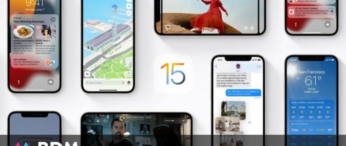iOS 15 : les modèles d'iPhone compatibles avec la nouvelle version