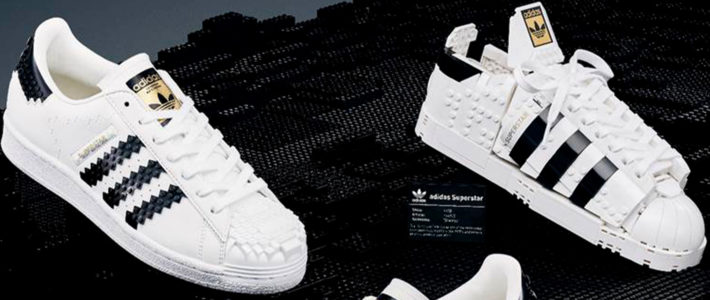 adidas Originals et LEGO dévoilent une collab' autour de l'iconique Superstar