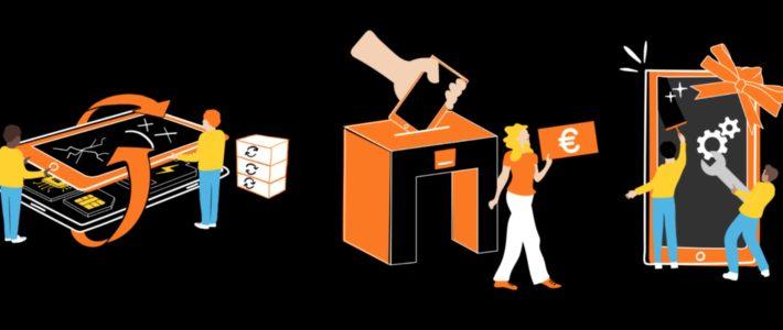 Orange crée des emplois en collectant vos anciens téléphones