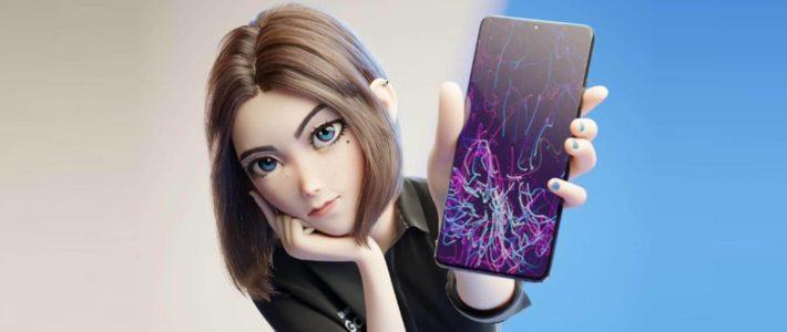 le nouveau visage de l'assistant vocal de Samsung enflamme Internet