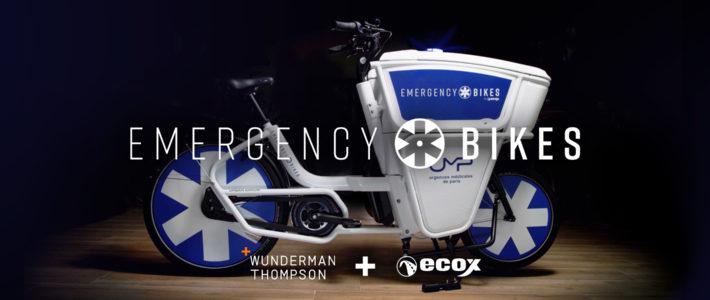La genèse des multiprimés Emergency Bikes de Wunderman Thompson Paris