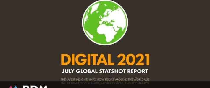 40 chiffres clés sur les réseaux sociaux, l'usage d'Internet et du mobile en 2021
