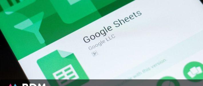 40 raccourcis clavier pour Google Sheets