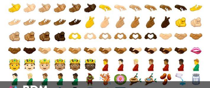 Découvrez les prochains emojis : cœur avec les doigts, visage fondant, troll, boule à facettes…