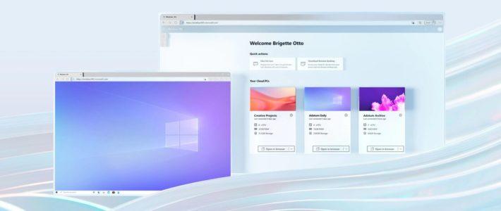 Microsoft dévoile Windows 365, son service de PC dans le cloud