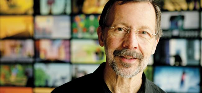 """Ed Catmull, Pixar : """"Technologie et créativité marchent main dans la…"""
