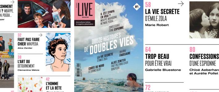 De la scène au format papier, comment Live Magazine fait voyager ses récits
