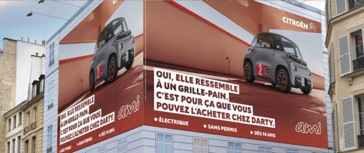 Moquer sans dénigrer, le pari réussi de Buzzman avec Ami pour Citroën