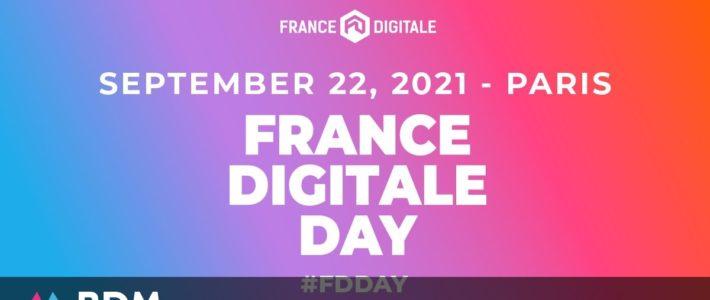 France Digitale Day, l'événement tech de la rentrée pour les startups