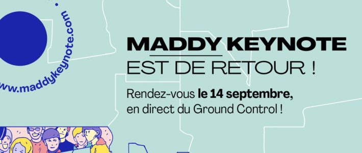Maddy Keynote : l'événement incontournable de l'innovation et du monde de demain