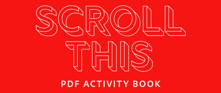 Adobe propose un cahier d'activités pour les grands qui s'ennuient en vacances