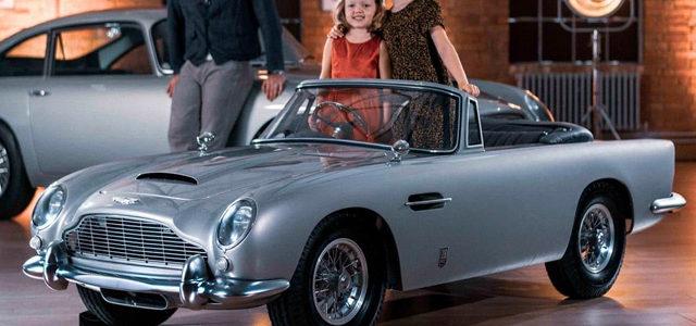 James Bond : Aston Martin lance une superbe mini DB5 pour enfants