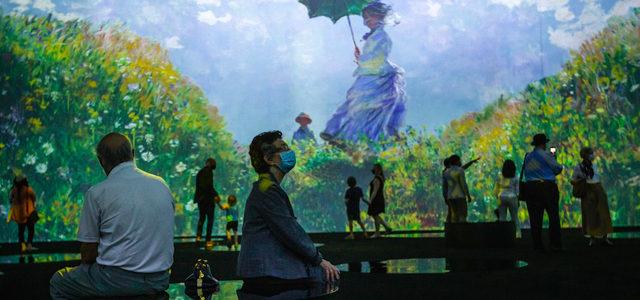 Beyond Monet : l'exposition immersive de Toronto
