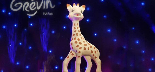 Pour ses 60 ans, Sophie la Girafe arrive au Musée Grévin