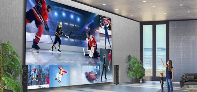 LG dévoile un écran Home Cinema de 8 mètres de diagonale
