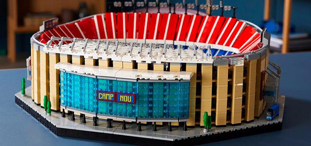 LEGO lance une réplique du stade du Camp Nou