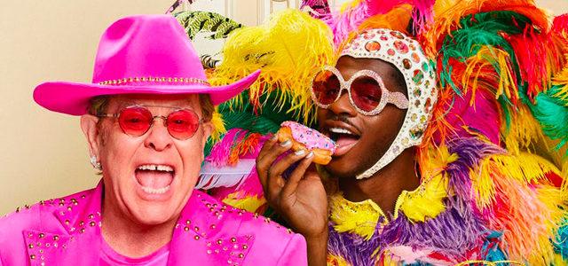 Lil Nas X et Elton John s'échangent leurs tenues emblématiques