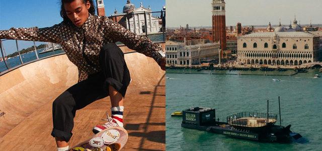 Un skatepark flottant à Venise