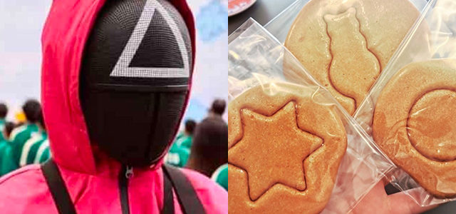 À Melun, une pâtisserie vend les petits gâteaux de Squid Game