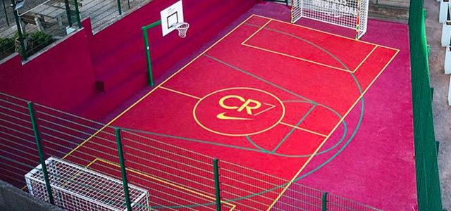 Nike ouvre un terrain CR7