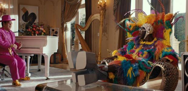Les spots déjantés d'Elton John et Lil Nas X pour Uber Eats !