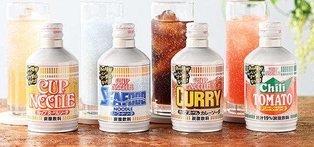 Lancement d'une gamme de sodas «Cup Noodle»