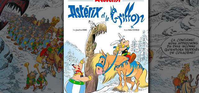 Astérix et le griffon : le prochain album d'Astérix se dévoile