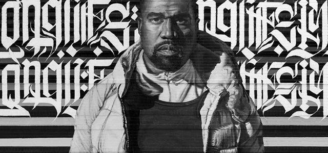 Une fresque de Kanye West mise en vente en NFT