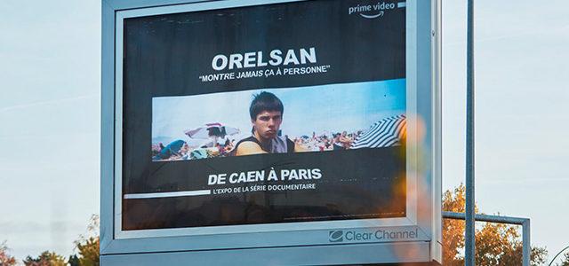 Orelsan : une exposition sur 245 km à ciel ouvert