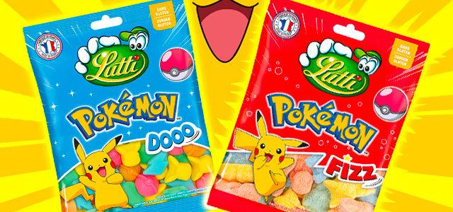 Lutti lance des bonbons en forme de Pokémon