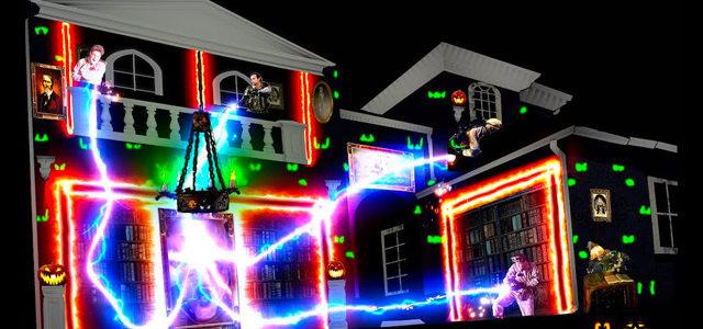 Halloween : une incroyable décoration spéciale Ghostbusters