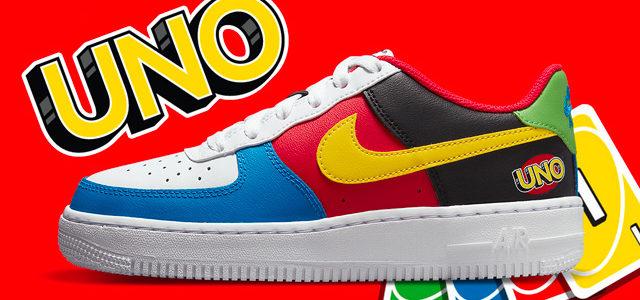 Nike célèbre les 50 ans du UNO avec une Air Force 1