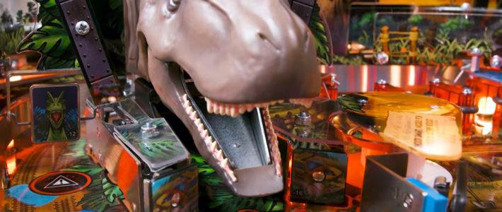 Jurassic Park dévoile son nouveau Flipper