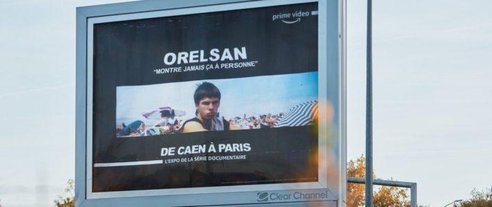 Avec Marcel, Orelsan s'affiche en 4×3 sur la route Caen-Paris pour Prime Video