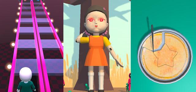 Les épreuves du Squid Game dans un jeu vidéo