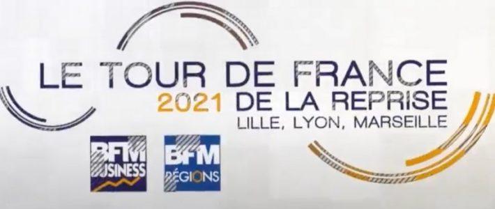 BFM Business part en région pour son Tour de France de la relance